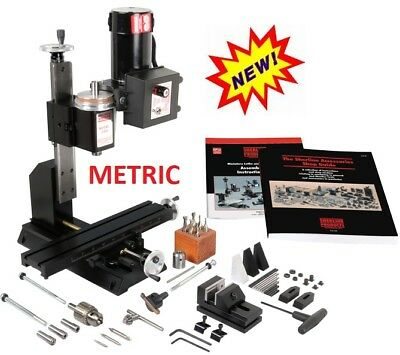 """5410A METRIC VERSION Deluxe Mill Package """"A""""  NEW! (see 5400A for INCH Version.)"""