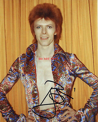 David Bowie Autographed 8x10 Signed Photo Reprint