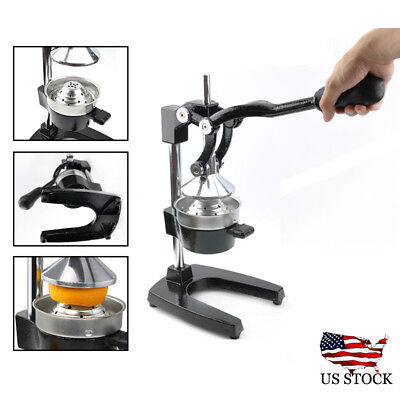 Pro Manual Juicer Orange Hand Press Citrus Fruit Lemon Extractor Juice Squeezer