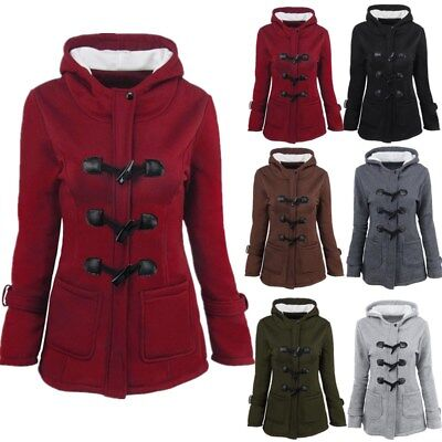 Plus Size Women Fashion Hoodie Sweatshirt Long Sleeve Hooded Coat Pullover Tops