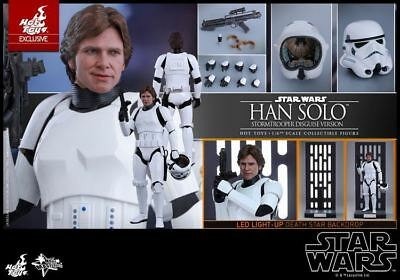 Hot Toys MMS418 1/6 Star Wars Han Solo Stormtrooper Disguise Ver. Action Figure