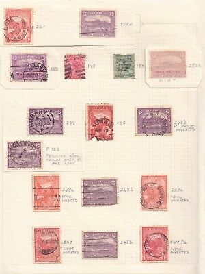 Western Australian State Stamps Page 1 Mint Overprint