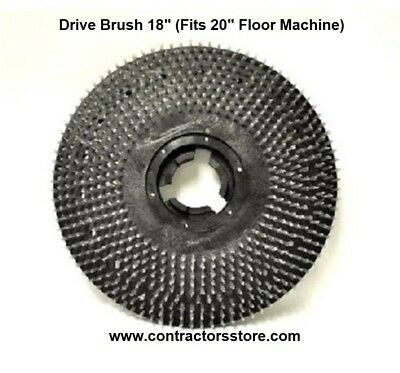 "Drive Brush 18"" (Fits 20"" Floor Machine) Floor Machine Pad  Pullman Holt"