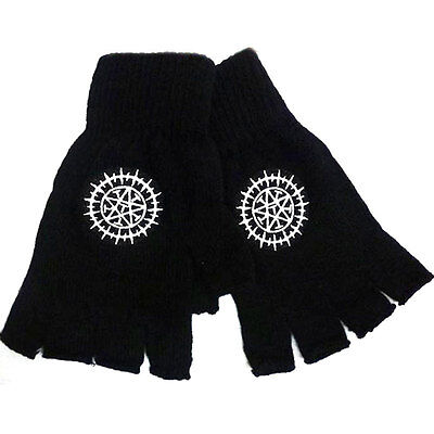 Anime Black Butler Sebastian Ciel Contract Cosplay Knitted Gloves Mittens Gift