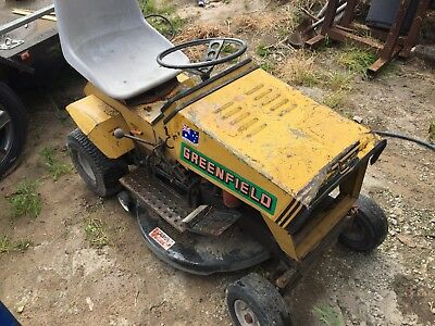 greenfield ride on mower 12hp