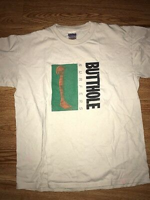 Vintage butthole surfers rembrandt pussyhorse early 2000s shirt size M ween