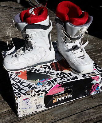 Snowboard Boots. Ride, Anthem. Boys Youth size US 8.