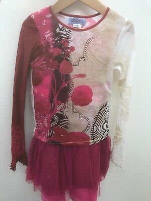 DESIGNER Kenzo Junior girls clothing top and skirt SIZE 6-8 TOP AND SKIRT!