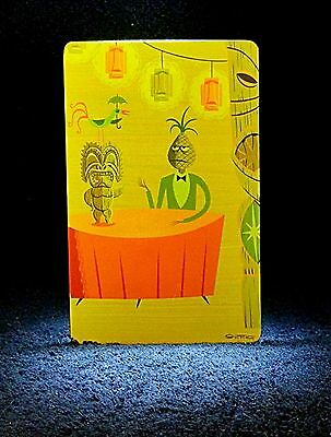 "SHAG Rare 2004 ""SURF CITY SMOOTHIE"" Tiki Card -Josh Agle Animated Postcard Art"