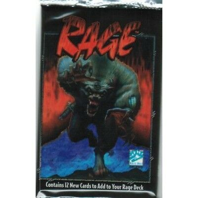 Rage CCG Limited Edition Booster Pack Box ! NEW ! SEALED!