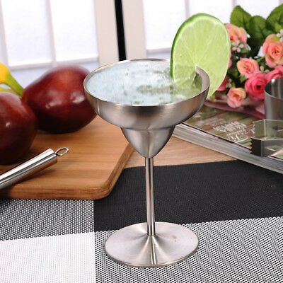Stainless Steel Wine Goblet Champagne Drinking Cup Glass Bar Accessories