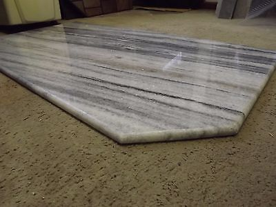 Marble fire heard for wood heater or fireplace 1300x715mm