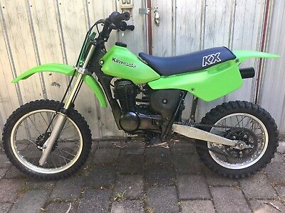 Kawasaki KX80 1984,Fitted with a Honda XR80 engine.Cheap Mini Bike runs great.