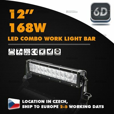 12nch CREE LED Work Light Combo Bar Flood Spot Offroad Driving Truck 13 14 168W