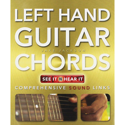 Left Hand Guitar Chords Made Easy (Paperback), Non Fiction Books, Brand New