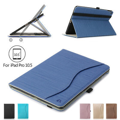 PU Leather ipad Case Cover For iPad Pro 10.5/Air 3 Folio Stand Shell W/ Pen Slot