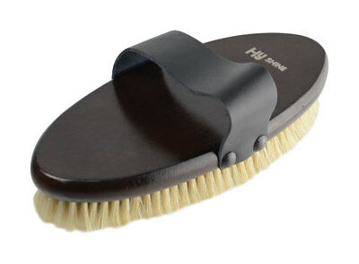 HySHINE Deluxe Body Brush With Pig Bristles  10482