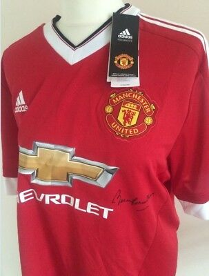 Sir Bobby Charlton Signed Manchester United Shirt