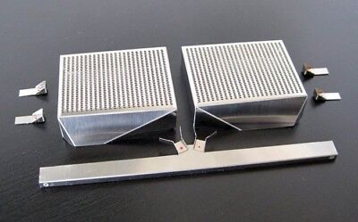 XL intercooler set for Ferrari F40 by Pocher 1/8 (brushed edition)