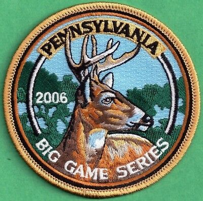 """Pa Pennsylvania Game Fish Commission NEW 4"""" Wilderness Editions 2005 Deer Patch"""
