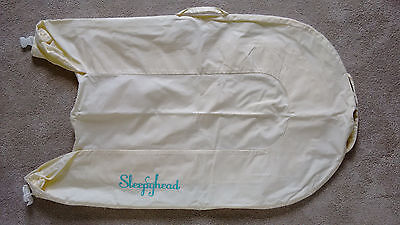 Sleepyhead Deluxe+ Plus Pod Nest 0-8 months SPARE COVER ONLY VANILLA YELLOW