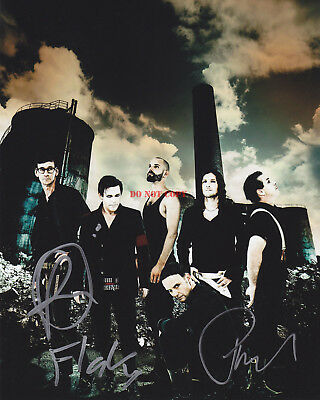 RAMMSTEIN Band Autographed 8x10 Photo Signed Reprint