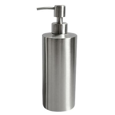 Home Liquid Soap Dispenser Pump Lotion Bottle Stainless Steel 1# 250ml
