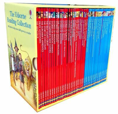 The Usborne Reading Collection 40 Books Gift Box Set Early Readers Brand New
