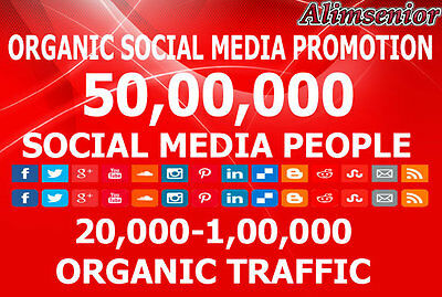 I Will Promote To 5,000,000 Social Media People For Your Websites