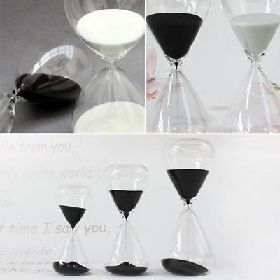 New Creative Colorful sand glass sand glass hour glass timer 5/10/30/60 minutes