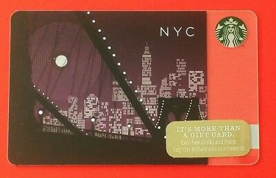 Starbucks Card New York Nyc Night Sammelkarte, Gift Card, Neu