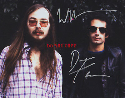 WALTER BECKER - DONALD FAGAN -STEELY DAN Autographed 8x10 Signed Photo Reprint