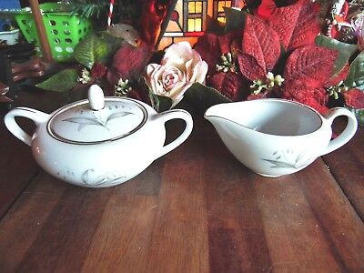 NEW OTHER-old stock KAYSONS FINE CHINA GOLDEN RHAPSODY 1961 SUGAR BOWL CREAMER