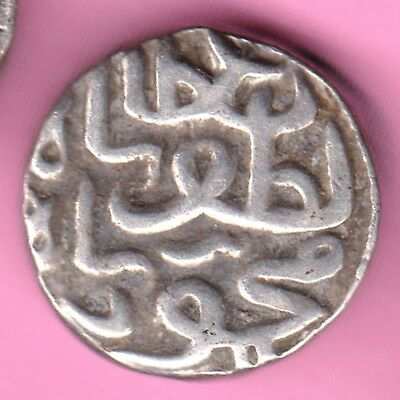 Gujarat Sultanate-Mehmood Shah-One Tankah-Rarest Silver Coin-64