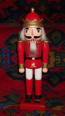 christmas soldier nut cracker  9.5""