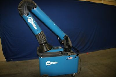 (1) Used Miller MWX-D Filtair Fume Extractor 17226