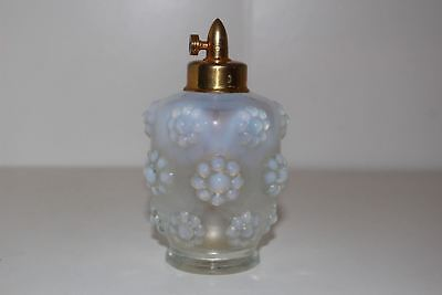 Vintage Devilbiss French Opalescent Glass Perfume Bottle