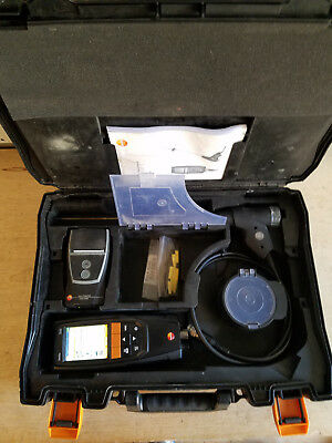 Testo 320 Combustion Analzyer with Printer & PC Software! Works GREAT!