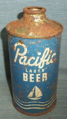 PACIFIC Cone Top Beer Can 12 oz.