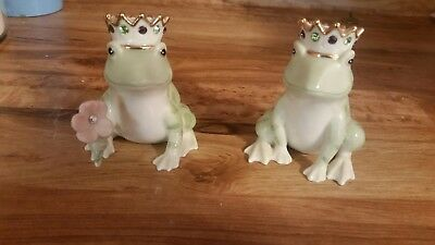 Lenox Frog Salt and Pepper shakers