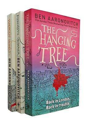 Rivers of London 4 5 & 6 PC Peter Grant Books Ben Aaronovitch 3 Book Set New