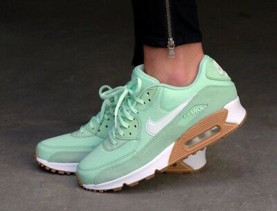 Nike Air Max 90 Mint Barely Green 325213-307 Women's Running Sportswear Shoes
