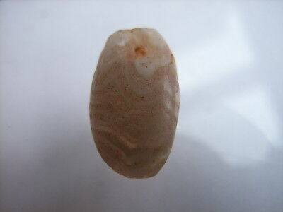 1 Ancient Neolithic Agate Amulet , Stone Age, VERY RARE!  TOP !!