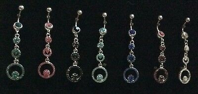 Piercing Ombelico Jewelry Navel Belly Bars 316L Surgical Steel 1,6 Lungo