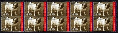 Pug Year Of The Dog Strip Of 10 Mint Stamps 5