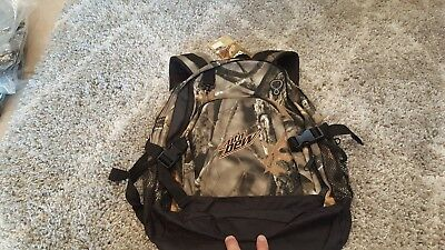 New! Mountain Dew Camouflage backpack-bookbag