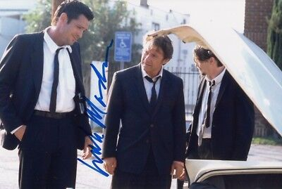 MICHAEL MADSEN signed Autogramm 20x30cm RESERVOIR DOGS in Person autograph COA