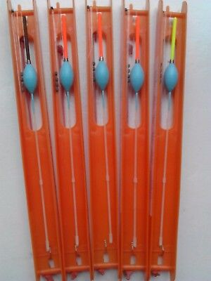 5 Hand made STRONG carp pole rigs. GREAT FOR 3-5 FT. DEPTH OF WATER.
