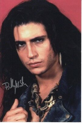 BILLY WIRTH signed Autogramm 20x30cm THE LOST BOYS in Person autograph COA