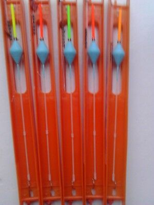 5 Hand made FABULOUS carp pole rigs. PERFECT COMPETITION RIGS.